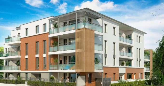 Achat / Vente appartement neuf Cugnaux à 500 mètres du centre-ville (31270) - Réf. 3851