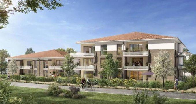 Achat / Vente appartement neuf Lespinasse secteur calme proche commodités (31150) - Réf. 4686