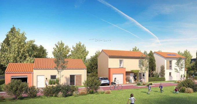 Achat / Vente appartement neuf Mondonville cœur de ville (31700) - Réf. 3137