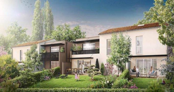 Achat / Vente appartement neuf Montrabé à 10 minutes de la gare (31850) - Réf. 4122