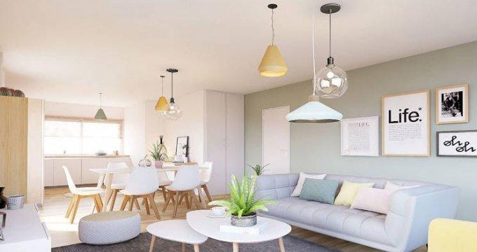 Achat / Vente appartement neuf Montrabé à 2 pas de la gare et des bus (31850) - Réf. 4791