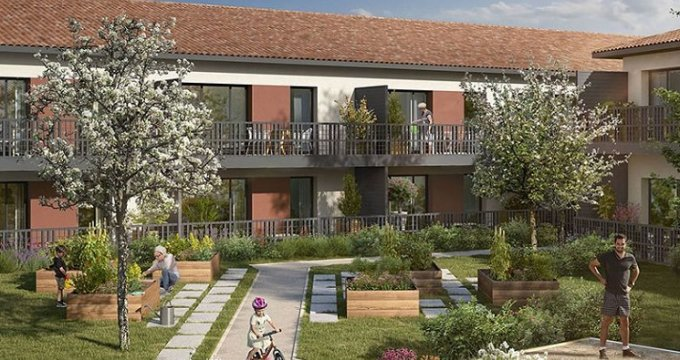 Achat / Vente appartement neuf Saint-Alban centre (31140) - Réf. 5430