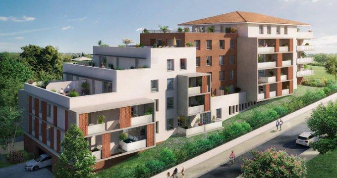 Achat / Vente appartement neuf Saint-Orens-de-Gameville-centre (31650) - Réf. 5473