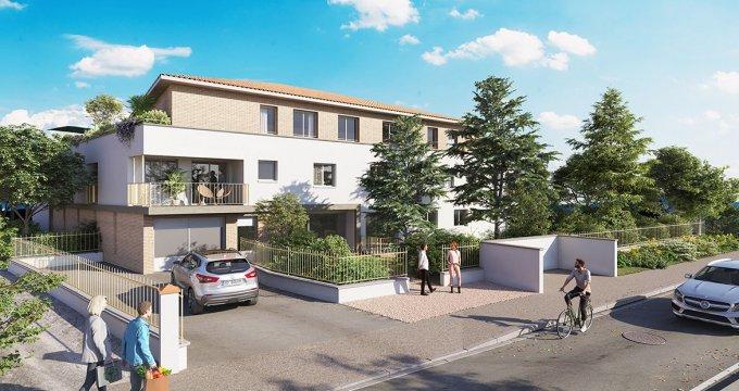 Achat / Vente appartement neuf Saint-Orens-de-Gameville proche bus (31650) - Réf. 6116