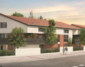 Achat / Vente appartement neuf Blagnac à 600 mètres du lac (31700) - Réf. 3879