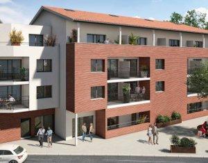 Achat / Vente appartement neuf Castanet-Tolosan à deux pas du Parc de la Mairie (31320) - Réf. 5741