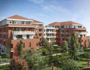Achat / Vente appartement neuf Castanet-Tolosan face au Parc de la Mairie (31320) - Réf. 5868