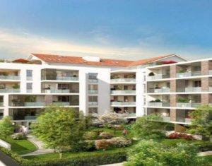 Achat / Vente appartement neuf Castanet-Tolosan proche centre-ville (31320) - Réf. 3125