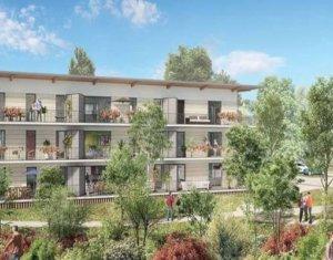 Achat / Vente appartement neuf Cornebarrieu quartier de la ZAC Monges-Croix du Sud (31700) - Réf. 3169