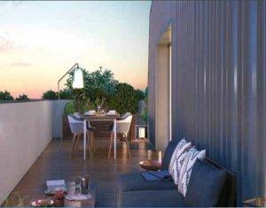 Achat / Vente appartement neuf Toulouse au cœur du quartier Rangueil (31000) - Réf. 3313