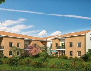 Achat / Vente appartement neuf Tournefeuille proche centre-ville (31170) - Réf. 3154