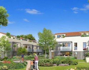 Achat / Vente appartement neuf Tournefeuille, proche golf de la Ramée (31170) - Réf. 3116