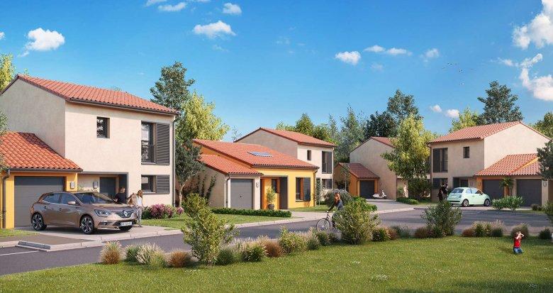 Achat / Vente appartement neuf Ayguesvives aux portes de Toulouse (31450) - Réf. 3136