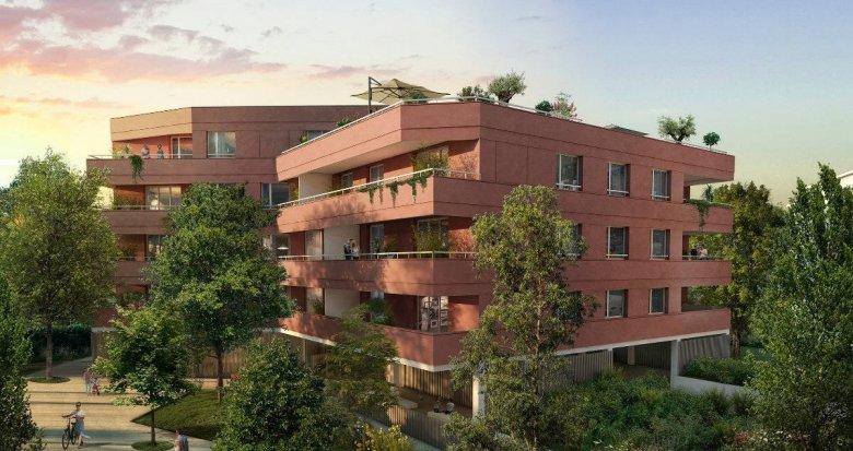 Achat / Vente appartement neuf Blagnac à 3 min à pied du T1 Patinoire-Barradels (31700) - Réf. 6257