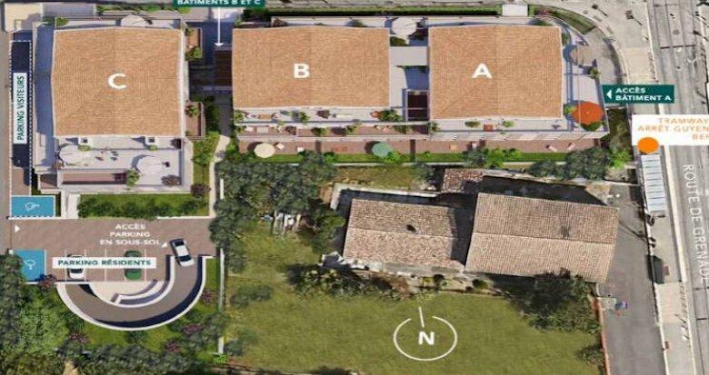 Achat / Vente appartement neuf Blagnac à deux pas du tramway (31700) - Réf. 5146