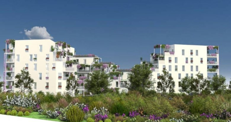 Achat / Vente appartement neuf Blagnac écoquartier Andromède (31700) - Réf. 3239