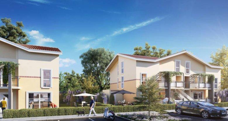 Achat / Vente appartement neuf Bruguières proche de la base de loisirs (31150) - Réf. 6004