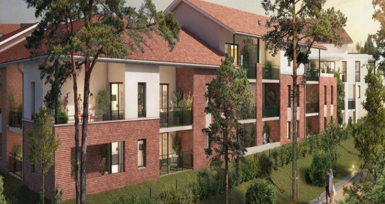 Achat / Vente appartement neuf Castanet-Tolosan au coeur de l'hypercentre (31320) - Réf. 5720
