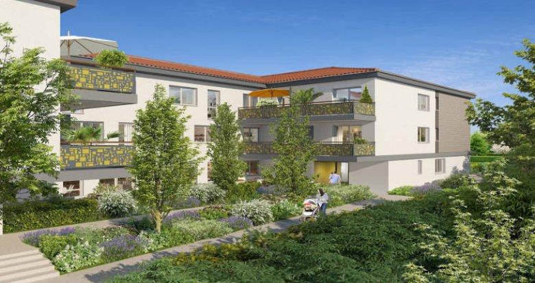 Achat / Vente appartement neuf Castanet-Tolosan proche bassins d'emploi (31320) - Réf. 5662