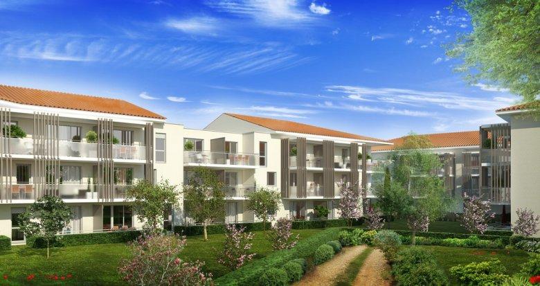 Achat / Vente appartement neuf Castanet Tolosan proche des bassins d'emploi (31320) - Réf. 3318
