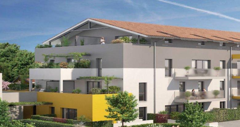 Achat / Vente appartement neuf Castelginest proche centre-commercial (31780) - Réf. 3806