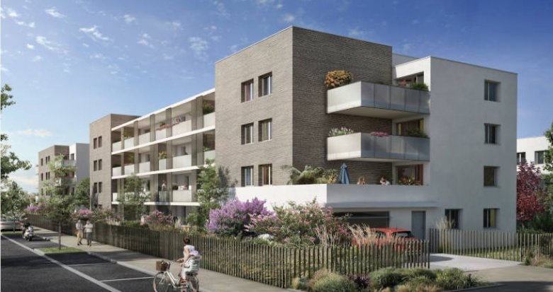 Achat / Vente appartement neuf Colomiers proche gare Les Ramassiers (31770) - Réf. 6077