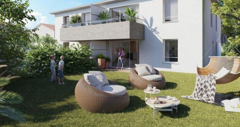 Achat / Vente appartement neuf Colomiers quartier du Garroussal (31770) - Réf. 5649