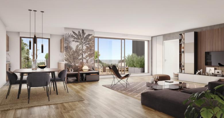 Achat / Vente appartement neuf Cornebarrieu écoquartier de Monges Croix du Sud (31700) - Réf. 5772
