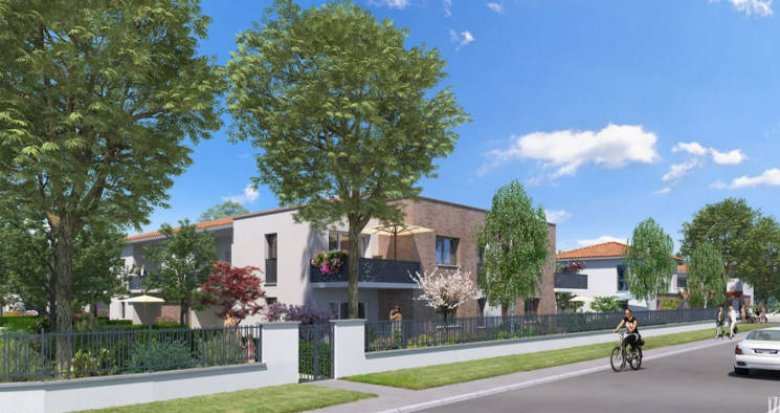 Achat / Vente appartement neuf Cugnaux au cœur du quartier résidentiel Michel (31270) - Réf. 4151