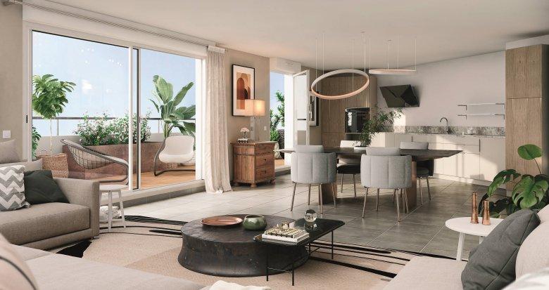 Achat / Vente appartement neuf Cugnaux proche quartier Saint-Simon (31270) - Réf. 6160