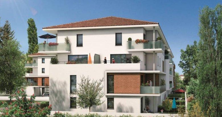 Achat / Vente appartement neuf Cugnaux proche toutes commodités (31270) - Réf. 5271