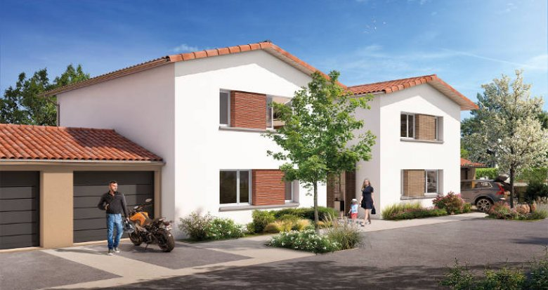 Achat / Vente appartement neuf Gratentour proche du centre-ville (31150) - Réf. 5610
