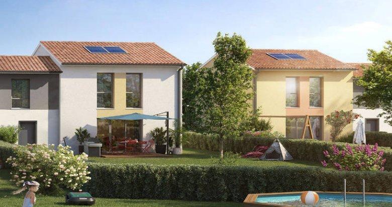 Achat / Vente appartement neuf Launaguet à 5 min de Toulouse (31140) - Réf. 5650