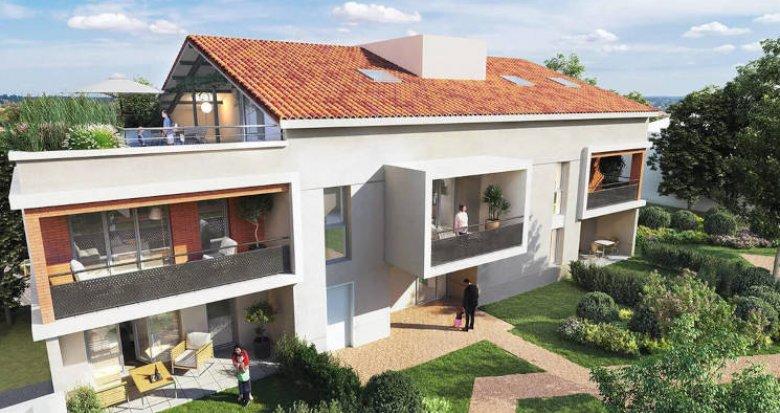 Achat / Vente appartement neuf L'Union proche centre commercial (31240) - Réf. 5619