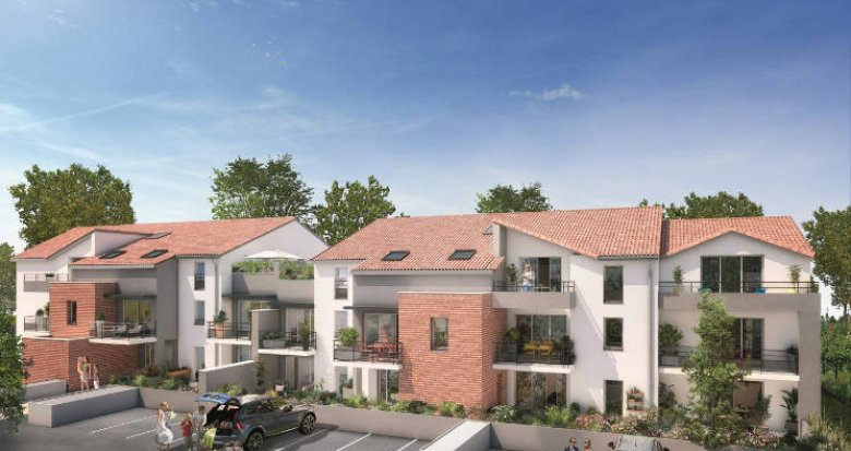 Achat / Vente appartement neuf Mondonville proche bassins d'emplois (31700) - Réf. 4454