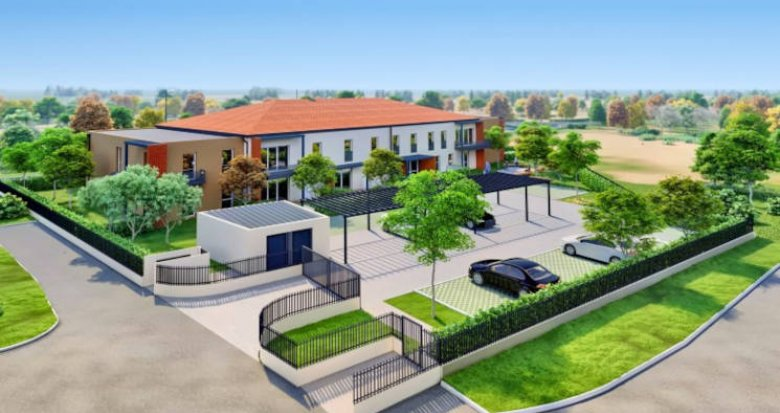 Achat / Vente appartement neuf Mondonville proche des bassins d'emploi (31700) - Réf. 5923