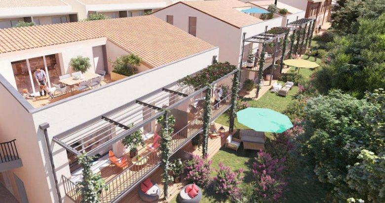 Achat / Vente appartement neuf Montrabé à 3 minutes de la gare (31850) - Réf. 5607