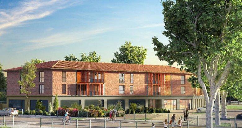 Achat / Vente appartement neuf Pinsaguel en plein centre (31120) - Réf. 4766