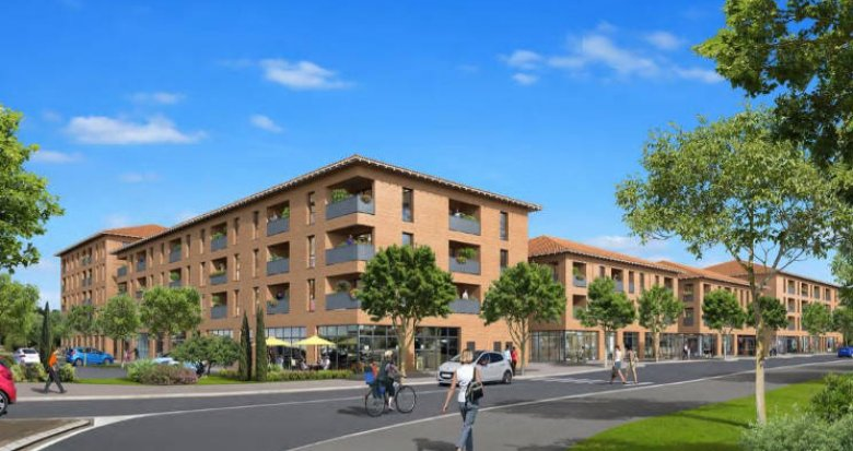 Achat / Vente appartement neuf Saint-Jory proche centre-ville et gare (31790) - Réf. 4786