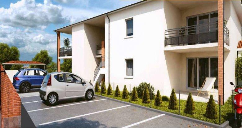 Achat / Vente appartement neuf Saint-Orens-de-Gameville aux portes de Toulouse (31650) - Réf. 3379