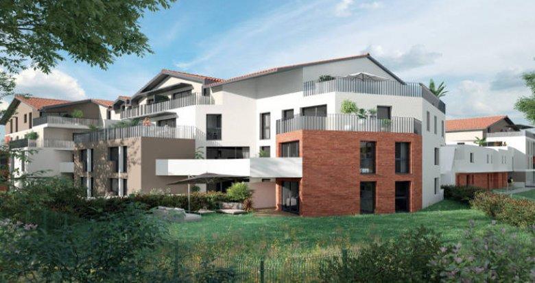 Achat / Vente appartement neuf Saint-Orens-de-Gameville centre (31650) - Réf. 5982