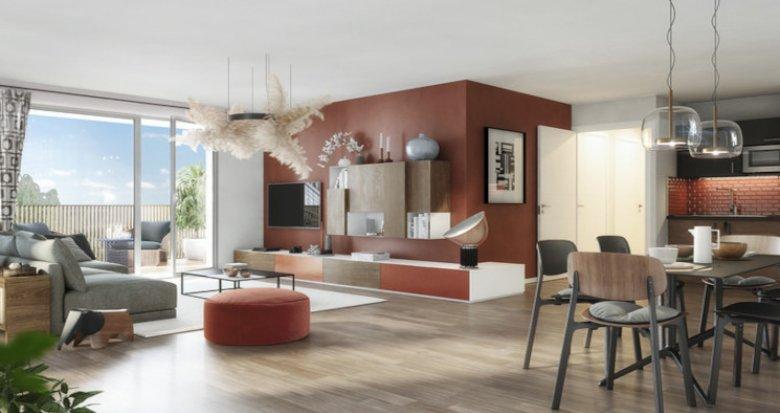 Achat / Vente appartement neuf Toulouse à 300 m du métro Barrière de Paris (31000) - Réf. 5454