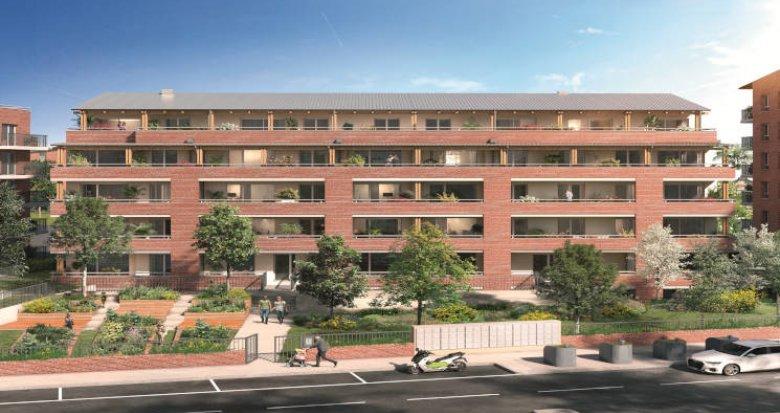 Achat / Vente appartement neuf Toulouse à 300 m du métro Trois Cocus (31000) - Réf. 5961