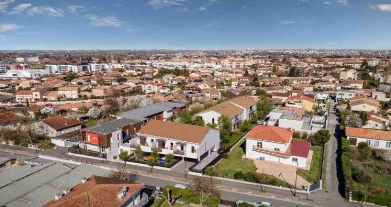 Achat / Vente appartement neuf Toulouse à 500 mètres de la place Carré de la Maourine (31000) - Réf. 4650