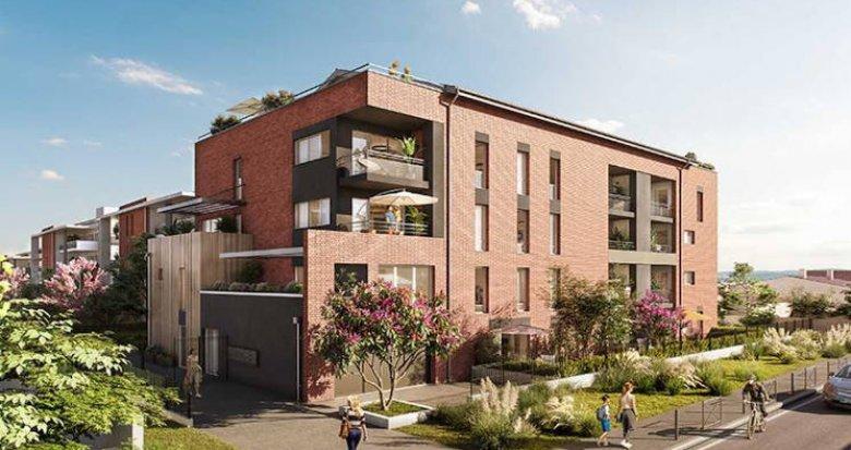 Achat / Vente appartement neuf Toulouse à 800 mètres du métro (31000) - Réf. 4816
