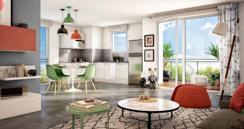 Achat / Vente appartement neuf Toulouse à deux pas de la gare de Montaudran (31000) - Réf. 4160