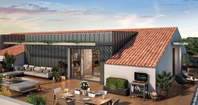 Achat / Vente appartement neuf Toulouse au cœur du quartier Borderouge (31000) - Réf. 6272