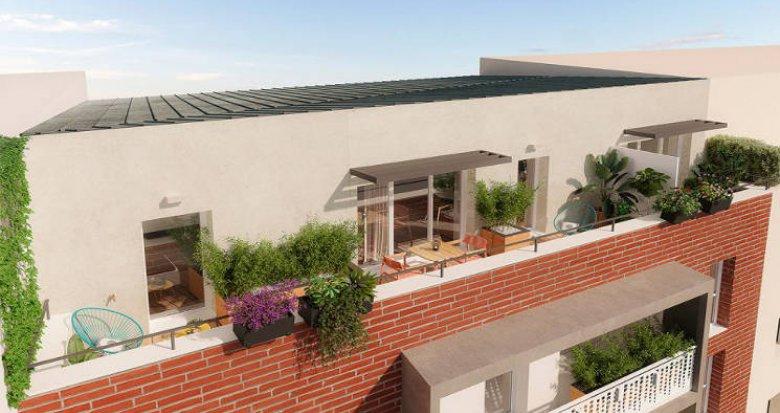 Achat / Vente appartement neuf Toulouse au cœur du quartier de la Barrière de Paris (31000) - Réf. 5924