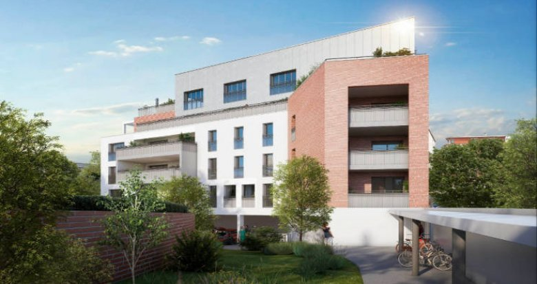 Achat / Vente appartement neuf Toulouse au coeur du quartier Guilheméry (31000) - Réf. 6159