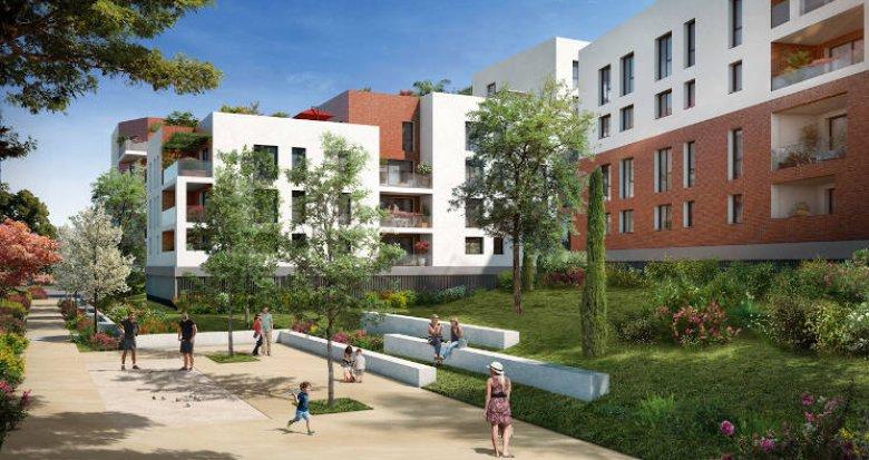 Achat / Vente appartement neuf Toulouse au coeur du quartier Montaudran (31000) - Réf. 4072